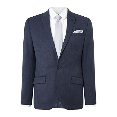 [ケネスコール] メンズ ジャケット&ブルゾン Park Slim Fit Multi-birdseye Jacket [並行輸入品] B07F2Z9YQ9 38 Regular