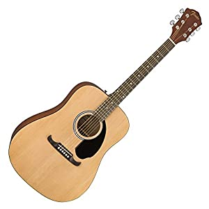 Fender FA-125 Acoustic Guitar, Natural