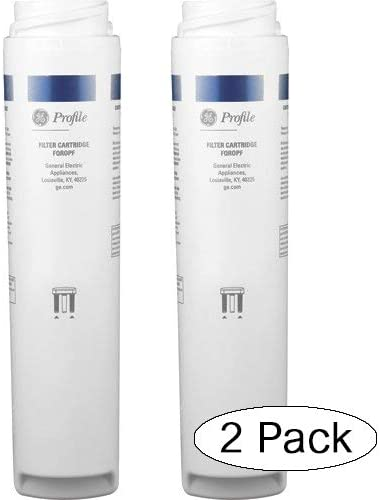 8.50 x 2.00 x 2.00 inches White Twо Расk General Electric GE Profile FQROPF Reverse Osmosis Replacement Filter Set