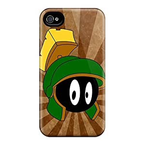Hard Plastic Iphone 4/4s Case Back Cover,hot Marvin The Martian Case At Perfect Diy