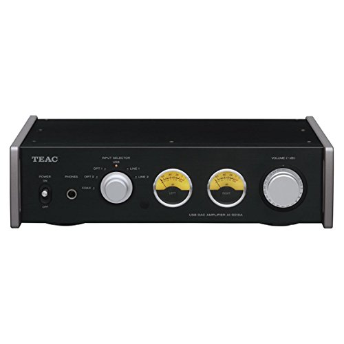 Teac AI-501DA-B Receiver with Integrated Amplifier and DAC's (Black)