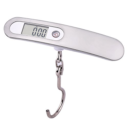 50kg Portable Electronic Handheld Travel Luggage Scale - 9