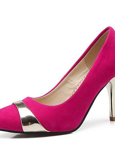 GGX/Damen Schuhe Stiletto Heel Spitz Zulaufender Zehenbereich Pumpe mehr Farbe erhältlich blue-us8 / eu39 / uk6 / cn39