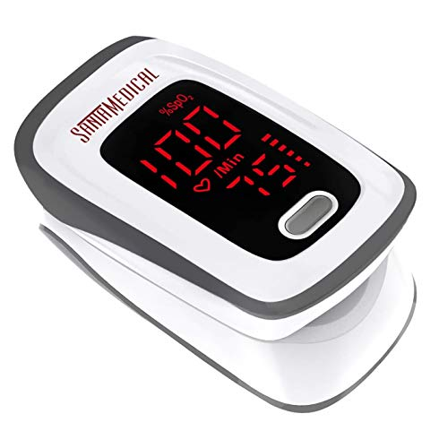 Fingertip Pulse Oximeter, Blood Oxygen Saturation Monitor (SpO2) with Pulse Rate Measurements and Pulse Bar Graph…