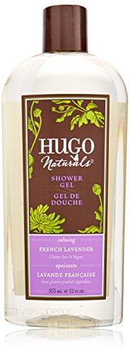 Hugo Naturals Shower Gel, French Lavender, 12-Ounce