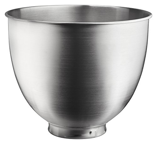 KitchenAid KSM35SSB Brushed Stainless Steel Bowl, Metallic