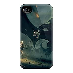 New Dragon Master Tpu Skin Case Compatible With Iphone 4/4s
