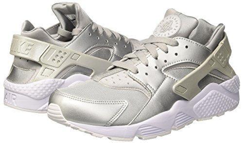 Nike Silver Platinum White Huarache Argento Uomo metallic Sneaker Silver Prm metallic Run Air pure 8RxqrZ7w8