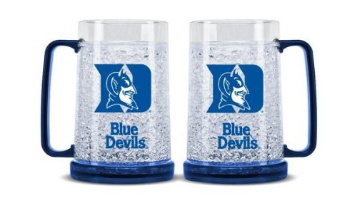 Beer Duke - NCAA Duke Blue Devils 16oz Crystal Freezer Mug