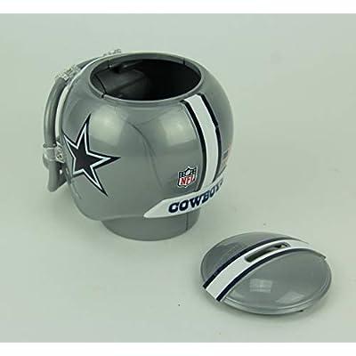 Marketing Results NFL Dallas Cowboys Mini Helmet Coin Bank: Toys & Games