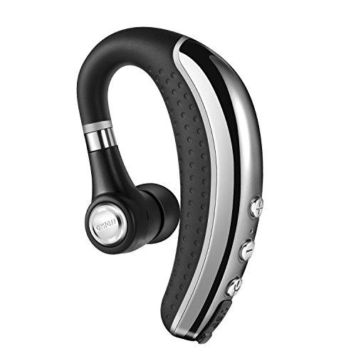 Bluetooth Headset Fhkjgs Wireless Bluetooth Headphones Sports Earpiece Sweatproof In Ear Earbuds Lightweight Earphones with Microphone Mute Switch Noise Cancelling Headphones