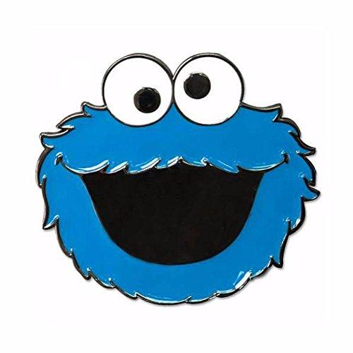 (Sesame Street Cookie Monster Metal/Enamel Belt Buckle)
