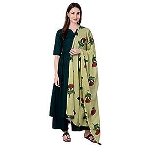Amayra Women's Rayon Salwar Suit(TCK078-GR_Green)