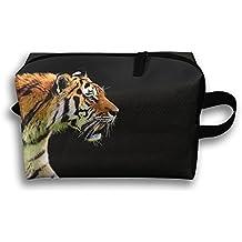 Tiger Cosmetic Bags Makeup Organizer Bag Pouch Purse Handbag Clutch Bag