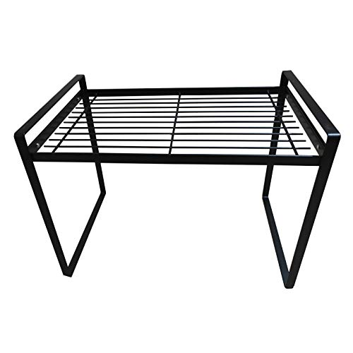 Multipurpose Storage Shelves ,Storage & Home Organization,Dish Drying Rack,Spice Racks,Plant Stand,Room Furniture,Laptop Stand,Metal Shelves (Black)