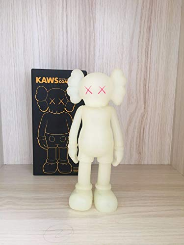 FidgetGear 1pc 8 Inch Originalfake KAWS Dissected Companion Figure Without Original Box White from FidgetGear