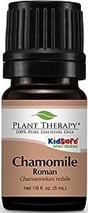 Plant Therapy Chamomile Roman Essential Oil.100% Pure, Undiluted, Therapeutic Grade. 5 mL (1/6 Ounce).