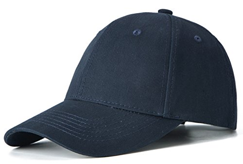 Edoneery Men Women 100% Cotton Adjustable Washed Twill Low Profile Plain Baseball Cap (Cotton Twill Baseball Hat)