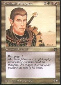 Magic: the Gathering - Marhault Elsdragon - Legends