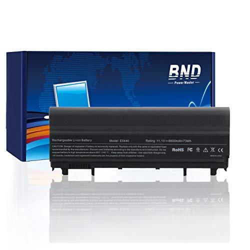 BND 6600mAh Laptop Battery for Dell Latitude E5440 E5540 - fits P/N VVONF N5YH9 VV0NF NVWGM CXF66-12 Months Warranty [9-Cell, Li-ion]