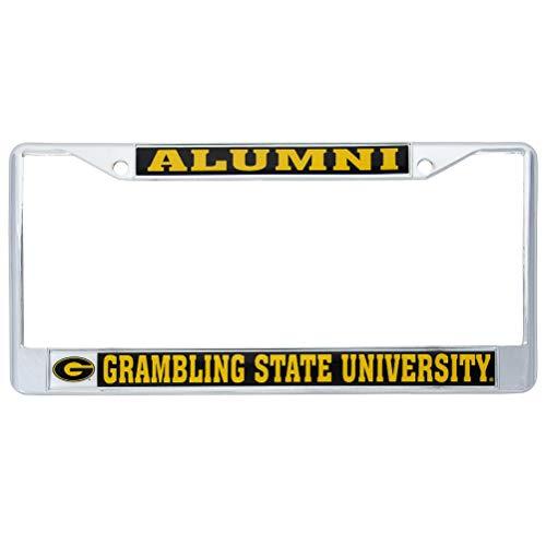 - Desert Cactus Grambling State University Tigers Metal License Plate Frame for Front Back of Car Officially Licensed (Alumni)