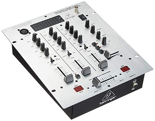 Behringer Pro Mixer DX626 Professional 3-Channel DJ Mixer with BPM Counter and VCA Control Behringer Pro Dj Mixer