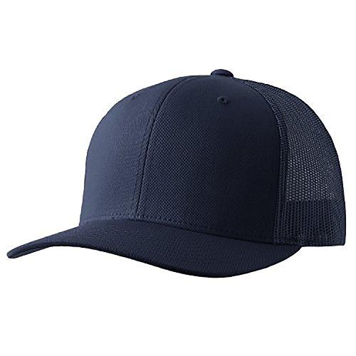 Yupoong Retro Trucker Hat & 2-Tone Snapback - 6606, (Navy)