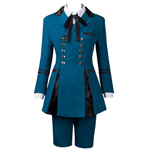 Cosfun Black Butler 2 Ciel Phantomhive Best Outfits Cosplay Costume mp003218 (US-L) -
