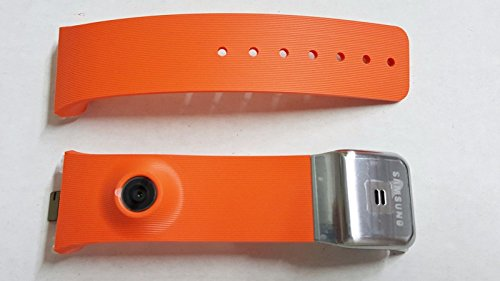 Samsung Galaxy Gear SM-V700 Orange Back Housing Frame and Band Strap with Camera - Orange Housing