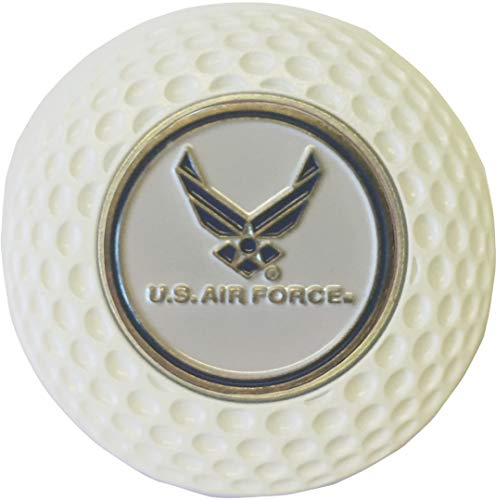 AIR Force Falcons Golf Ball Marker in Acrylic Golf Style Poker CHIP Great Gift