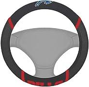 "FANMATS 21362 Black Universal 15"" Diameter Steering Wheel"