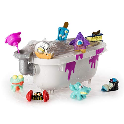 Flush Force, Series 2, 8-Pack Bizarre Bathtub with Gross Collectible Figures (Color/Styles May Vary)