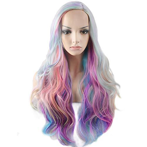 BERON Long Curly Multi-Color