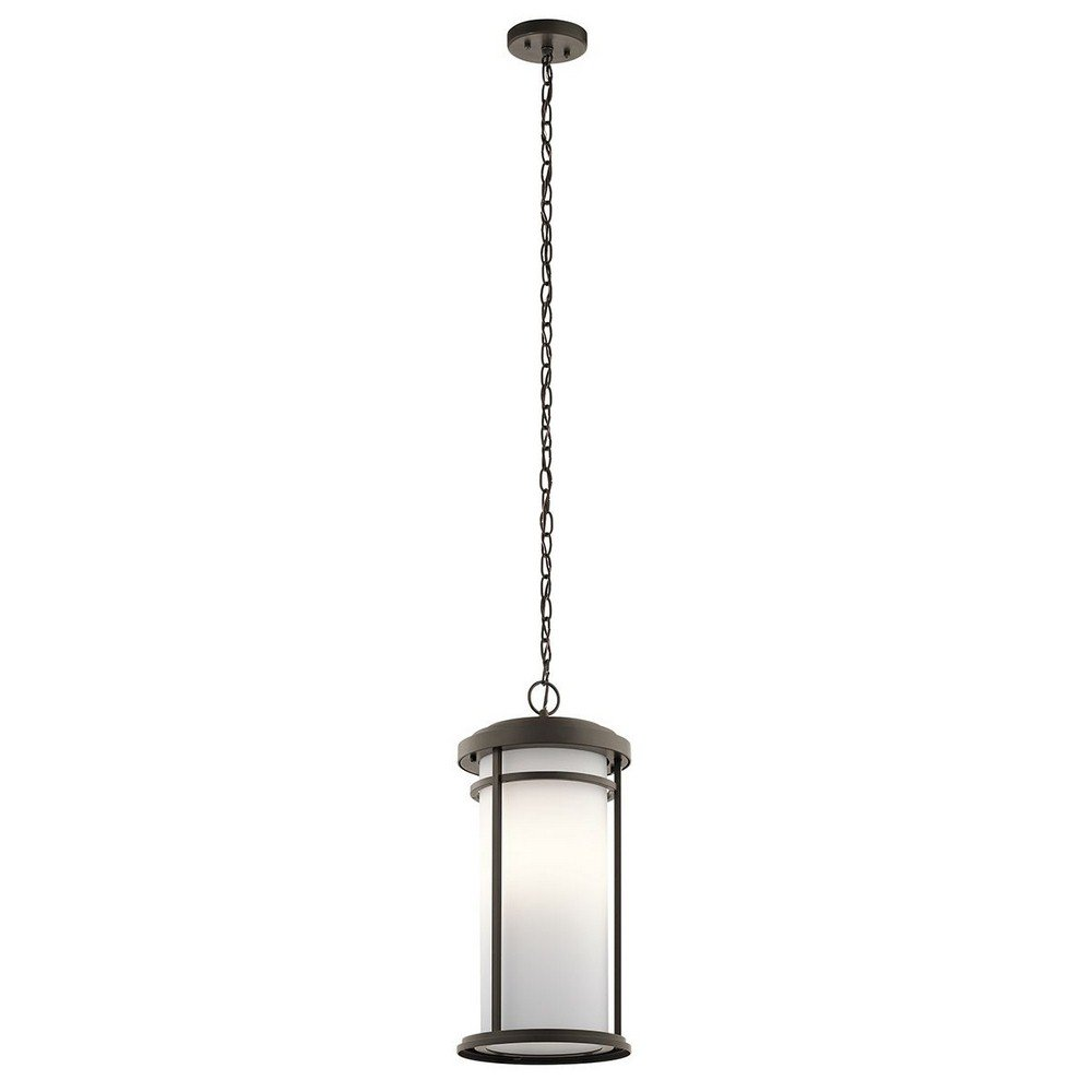 Kichler 49689OZ One Light Outdoor Pendant