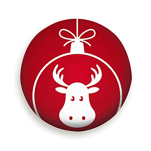 goodsaleA Christmas Ball Santa Claus Reindeer Abstract Holidays Spare Wheel Tire Cover Waterproof Dust-Proof Universal for Jeep,Trailer, RV, SUV and Many Vehicle 14