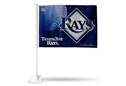 MLB Tampa Bay Devil Rays Car Flag - Mlb Spirit Tampa Bay