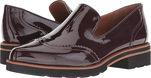 Franco Sarto Women's Betsy Loafer (8, Dark Burgundy)