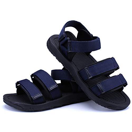 e casual antiscivolo tempo regolabili uomo per sandali Blue coperto Xiaoqin libero all'aperto Scarpe scarpe al il da adatti casual comfort 5qOTz4w
