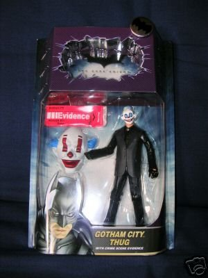 The Dark Knight Movie Masters Series 1 Gotham City Thug (Version 1) Action Figure