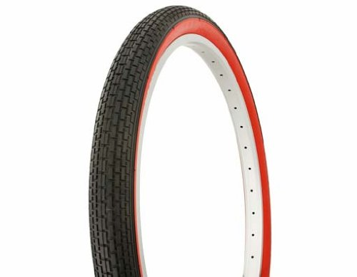 Tire Duro 26  X 2 125  Black Red Side Wall Hf 120A Bicycle Tire  Bike Tire  Beach Cruiser Bike Tire  Cruiser Bike Tire  Chopper Bike Tire  Trike Tire  Tricycle Tire