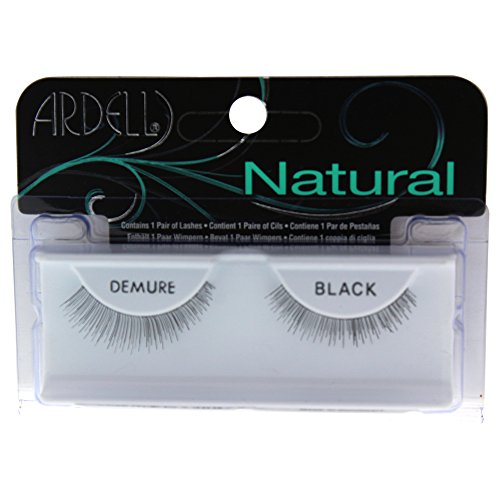 41bnLAaO7BL Ardell Fashion Lashes, Demure Black, 1 Pair (Pack of 2)