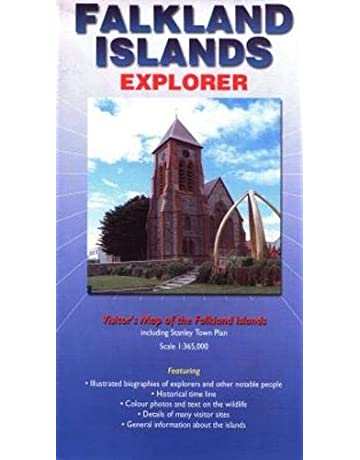 Falkland Islands Explorer Map