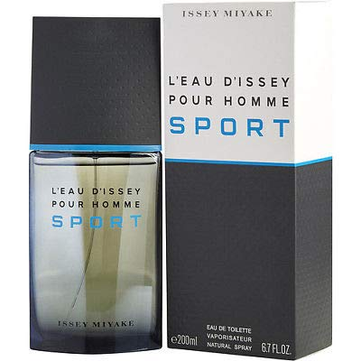 Issěy Miyâkě L'Eau d'Issey Pour Homme Sport Eau De Toilette Spray 6.7 OZ/ 200 ML