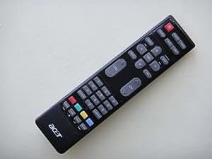 Acer 25.MAE0B.001 - Mando a distancia (Negro, TV, AT1916D AT2054D AT2354D, Botones)