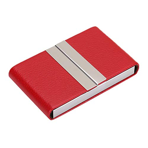 Kangma Business Card Holder Double Open Cases Credit Card ID Holder for Men & Women - Keep Your Business Cards Clean