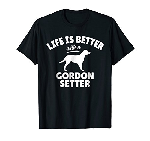Gordon Setter Dog Breed T-Shirt Dog Owner Gift
