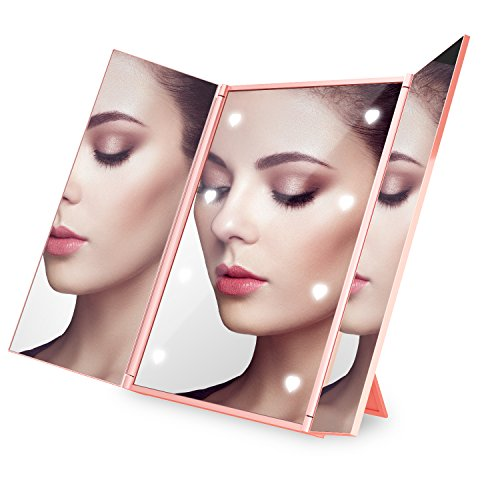 Tri Fold Countertop Cosmetic High Definition Magnification product image