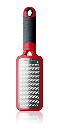 MICROPLANE 44102 Home Series 2.3 Fine Grater 18/8 Red
