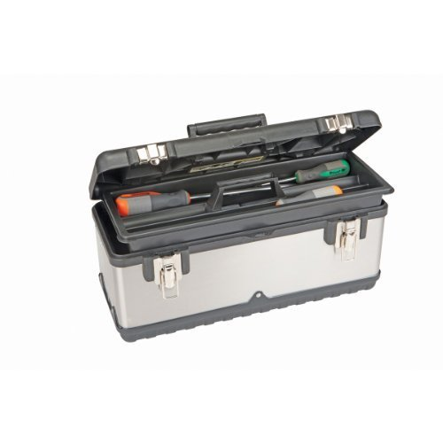 18.5'' Stainless Steel Toolbox by Voyager