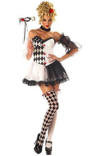 Le Belle Harlequin Costume (Medium) -